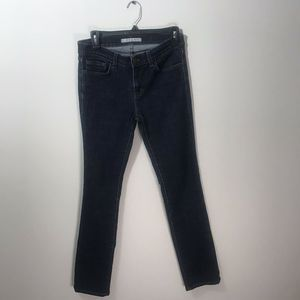 J BRAND MID RISE SIZE 28 STRAIGHT LEG JEANS